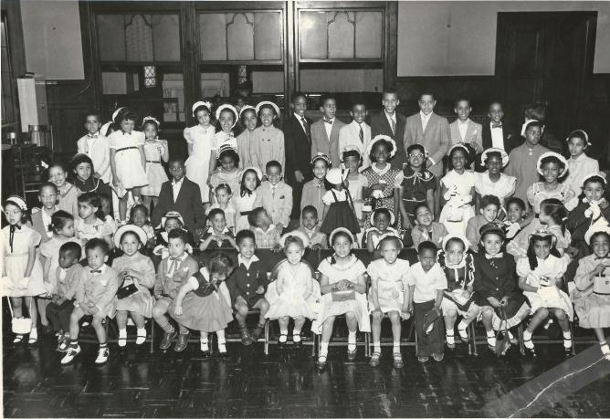 All Saints Sunday School 1954 (The Old Church)