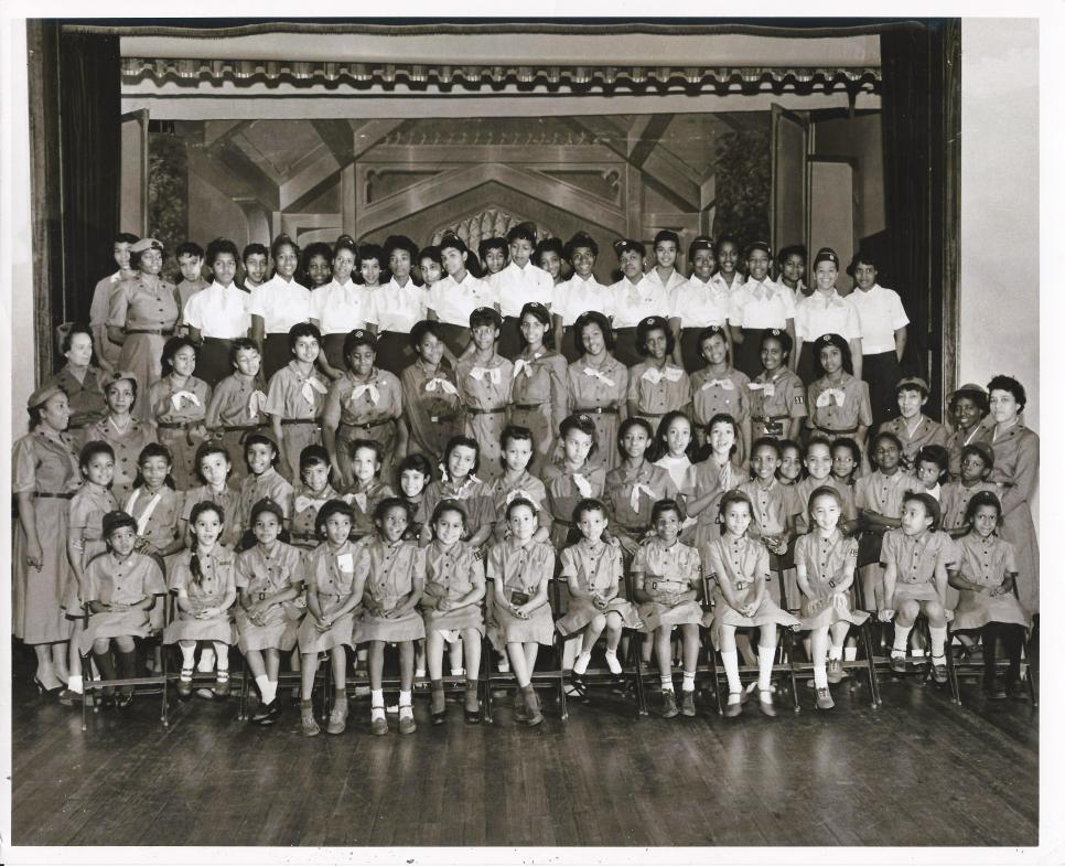 All Saints 1957 Girls Scout And Brownie Troop (The Old Church)