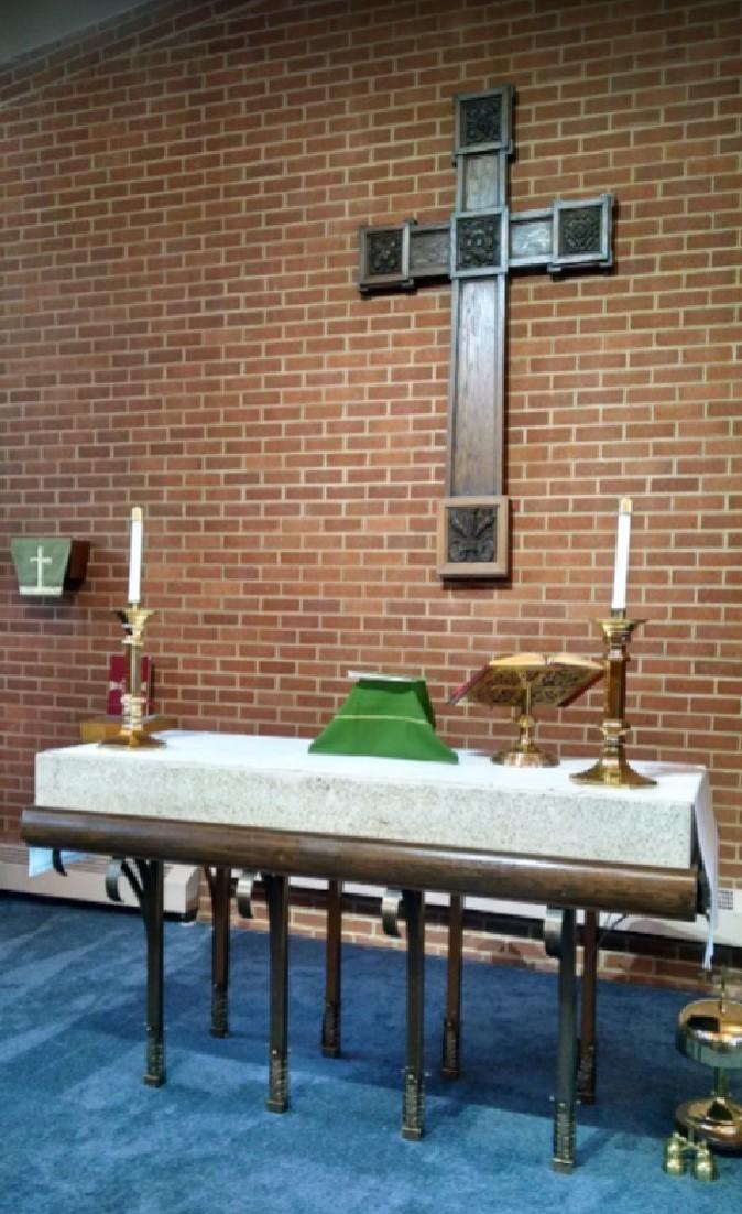 Altar Restoration 2018