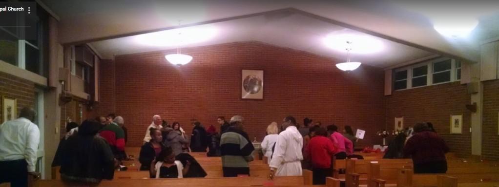 Christmas Eve 2017-Worshipers Dispersing
