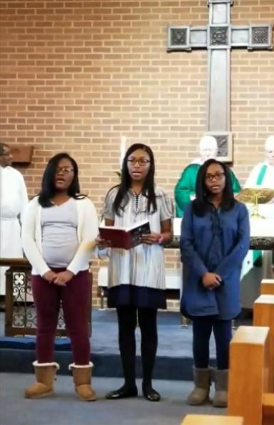 Youth Singing-Unification Sunday