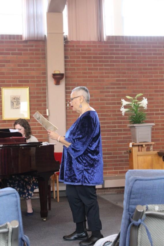 Easter 2018-Adrienne Singing