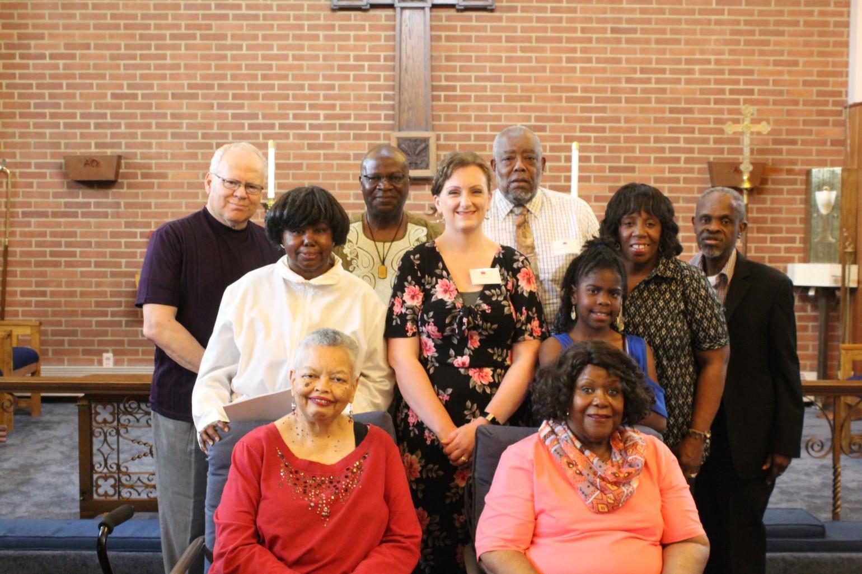 Choir and Andrea Hunter-May 2018-photo 2
