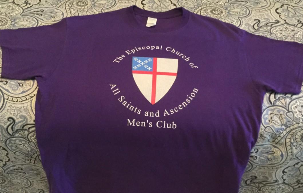 Men's Club Logo on T-Shirt