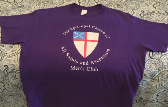 Men's Club Logo on T-Shirt