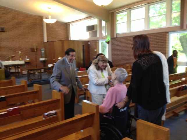 Victor and Delores Roberts Chat with Laura Brown and Laura Mabry