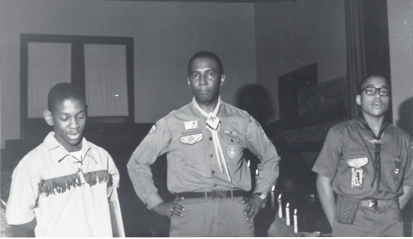 1968 Eagle Scouts - Michael Calvin-Willie Chapman-Paul Abernathy