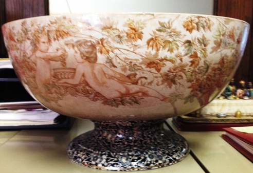 2014 -NPH - Antique Candy Bowl