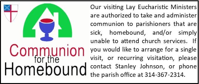 eucharistic visitation announcement