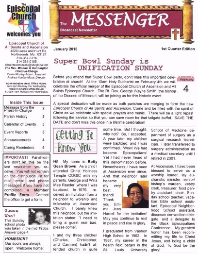 newsletter front cover jan 18