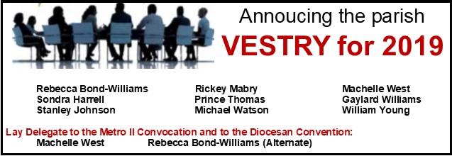 vestry 2019 clip art