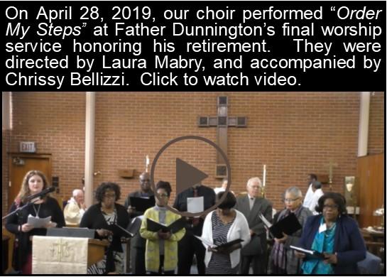 Choir Video Click-April 28 2019