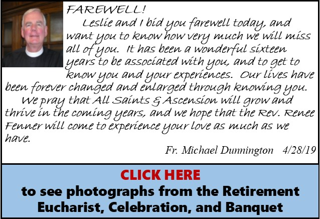 Fr Dunnington Farewell Message ver2