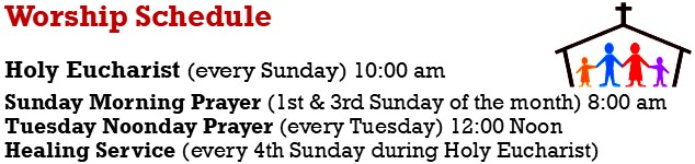 Worship Service Schedule