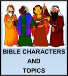 Kids Corner Button-Bible Characters & Topics