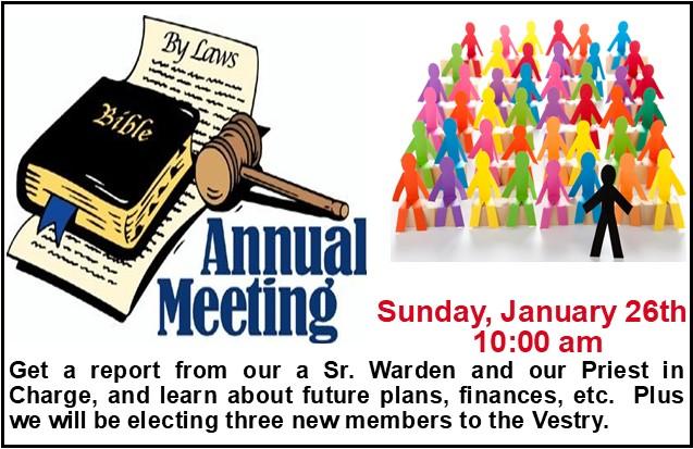 Annual Meeting 2020 Announcement