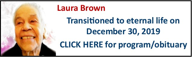 Funeral Notice-Laura Brown