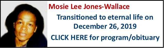 Funeral Notice-Mosie Lee Jones-Wallace