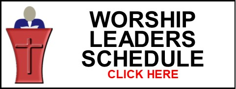 Worship Leader Schedule Clip Art