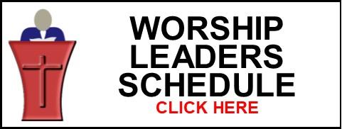 Worship Leader Schedule Clip Art