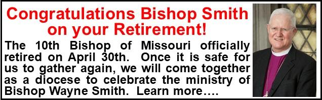 Bishop Smiths Retirement Announcement