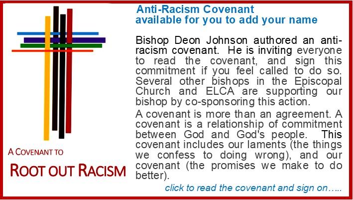 Anti Racism Covenant Announcement rev1