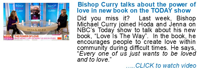 Bishop Curry Discuss New Book