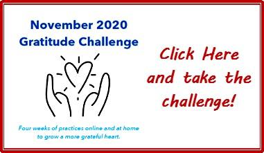 UTO Gratitude Challenge Label