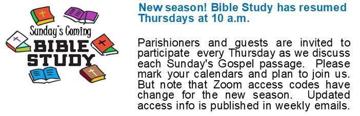Bible Study Announcement rev19