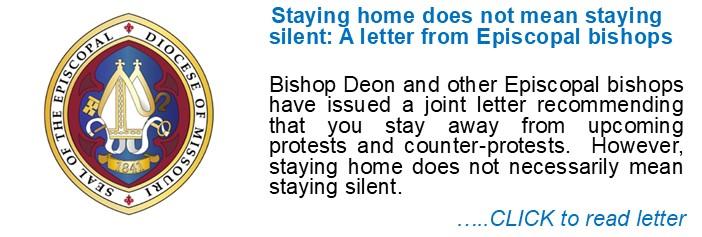 Bishop Deon-Pastoral Letter from Episcopal Bishops 1-13-21