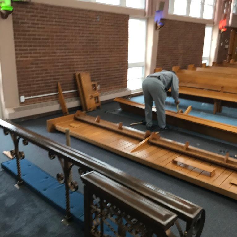 Church Renovation 2021-Demolition #1