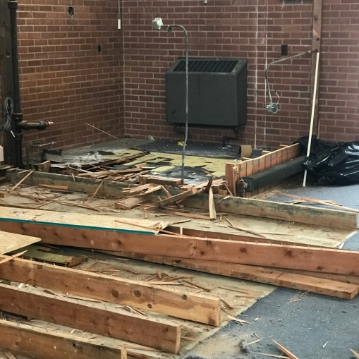 Church Renovation 2021-Demolition #3