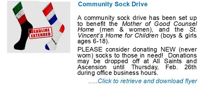 Community Sock Drive 2021 rev2