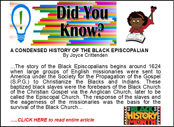 Did You Know - Black History Month 2021 rev1