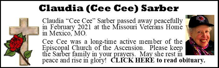 Funeral Announcement-Cee Cee Sarber